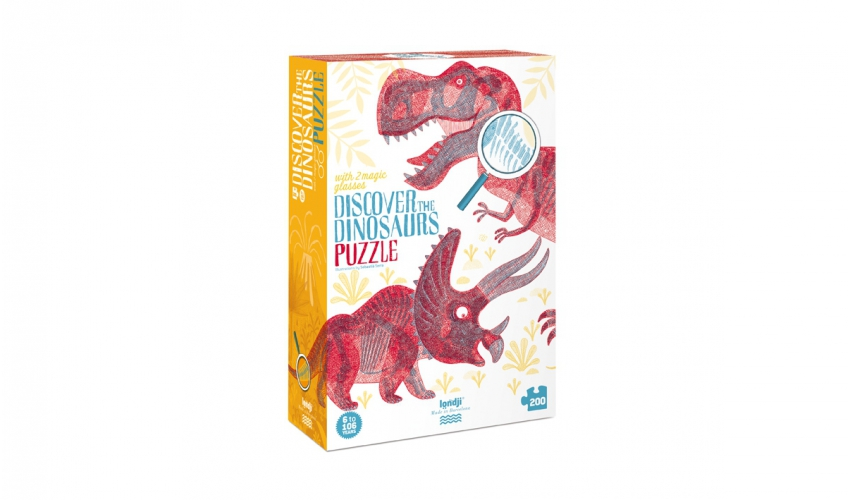 Puzzle Descobrir Dinossauros