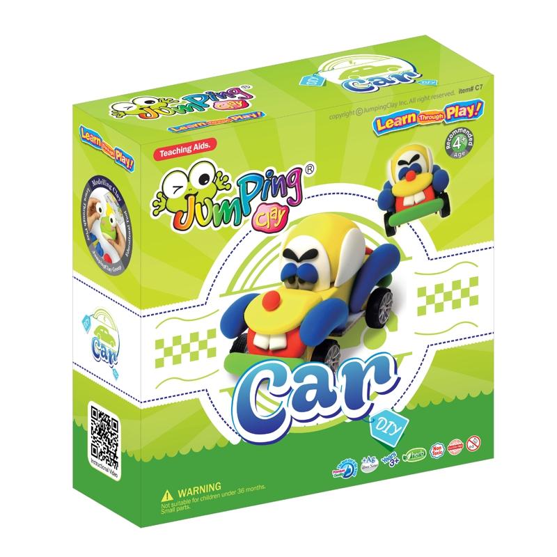 CARRO - Plasticina JumpingClay e Acessórios