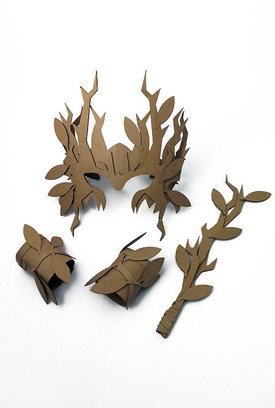 Druida da Floresta Cartão