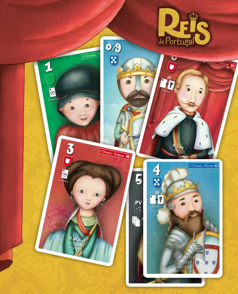 Jogo Reis de Portugal