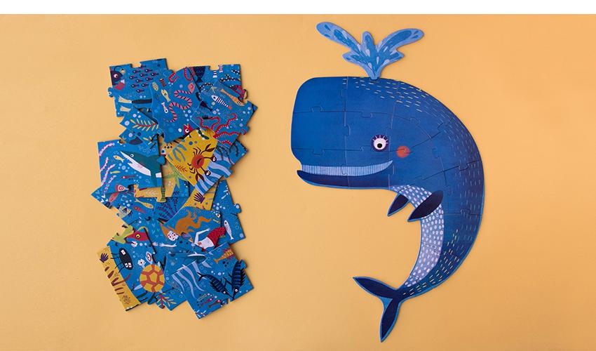 Puzzle Grande Azul