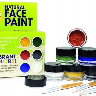 Natural earth paint kit cara 6
