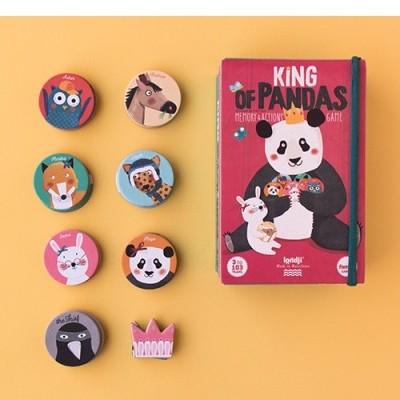 Jogo de Memória e Acção Pandas