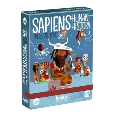 Jogo de Cartas História Humana - Sapiens