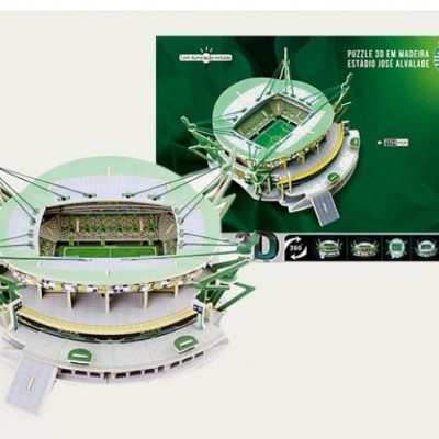 Estádio do Sporting - Puzzle 3D