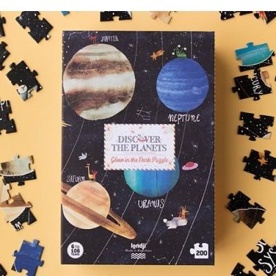 Puzzle Descobre os Planetas