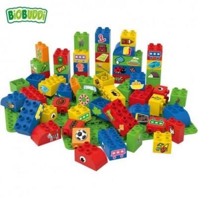 Blocos de construção com formas 60 peças