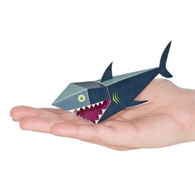 Requin - carte postale