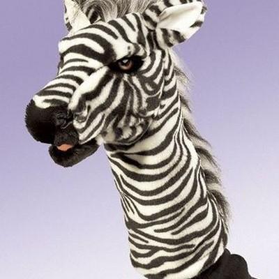 Zebra de Palco de Fantoches