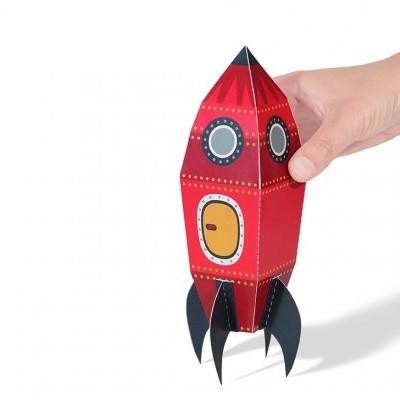 Foguetão - Brinquedo de Papel