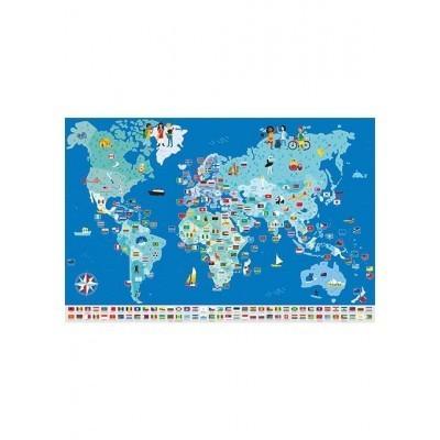 Poster Gigante - Bandeiras do Mundo