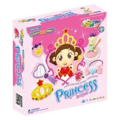 PRINCESA - Plasticina JumpingClay e Acessórios