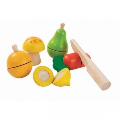 Set de frutas e legumes