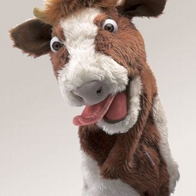 Vaca Fantoche de Palco