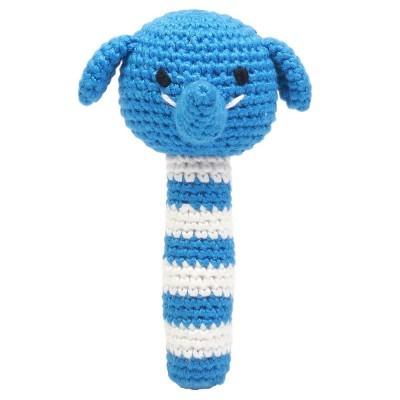Chocalho Elefante Azul