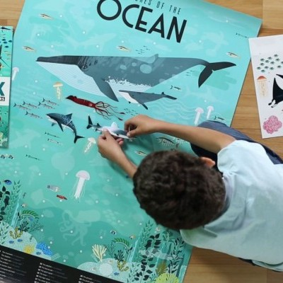 Poster Gigante - Animais Marinhos