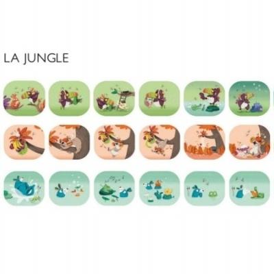 Lanterna de Histórias - Dans la Jungle