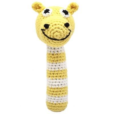 Chocalho Camelo Amarelo