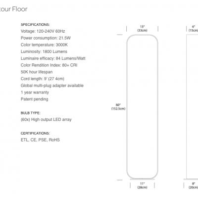 Contour floor