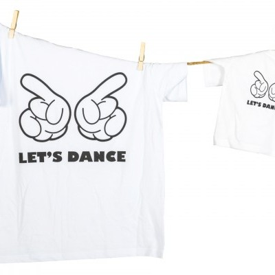 T-shirts LET'S DANCE adulto