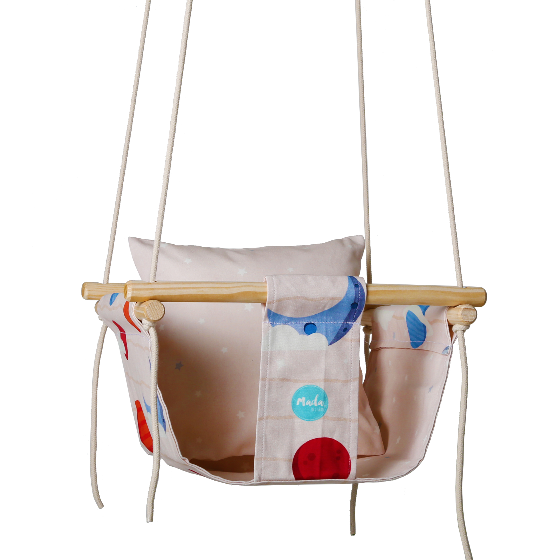 Bege Planets Baby Swing