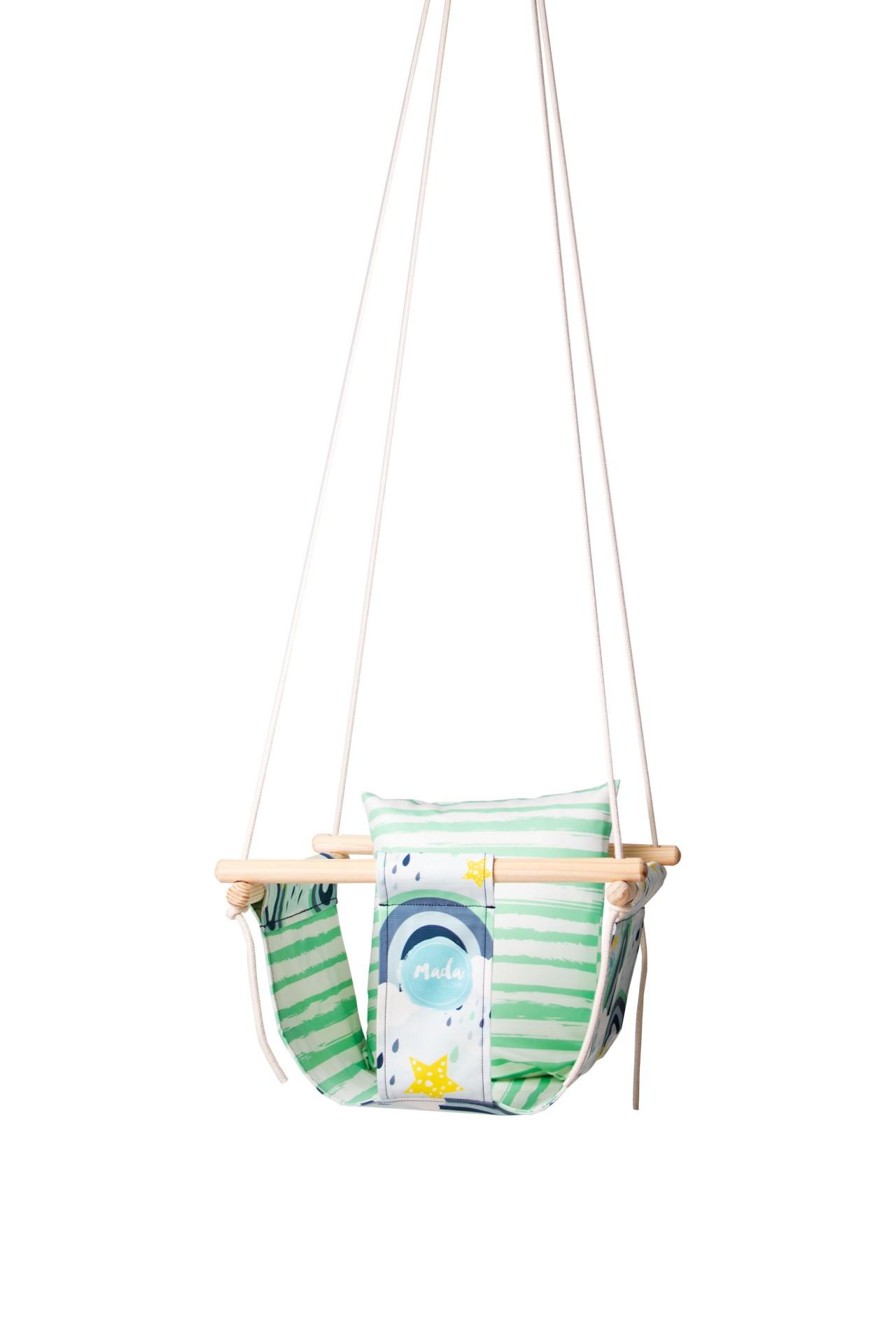 Blue Rainbow BabySwing