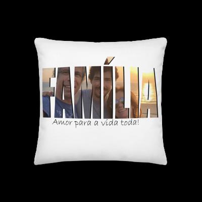 Almofada - Família / Family - Amor para a vida toda