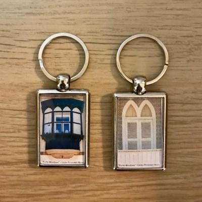 Porta-chaves Retangular Metal - #Porto Windows