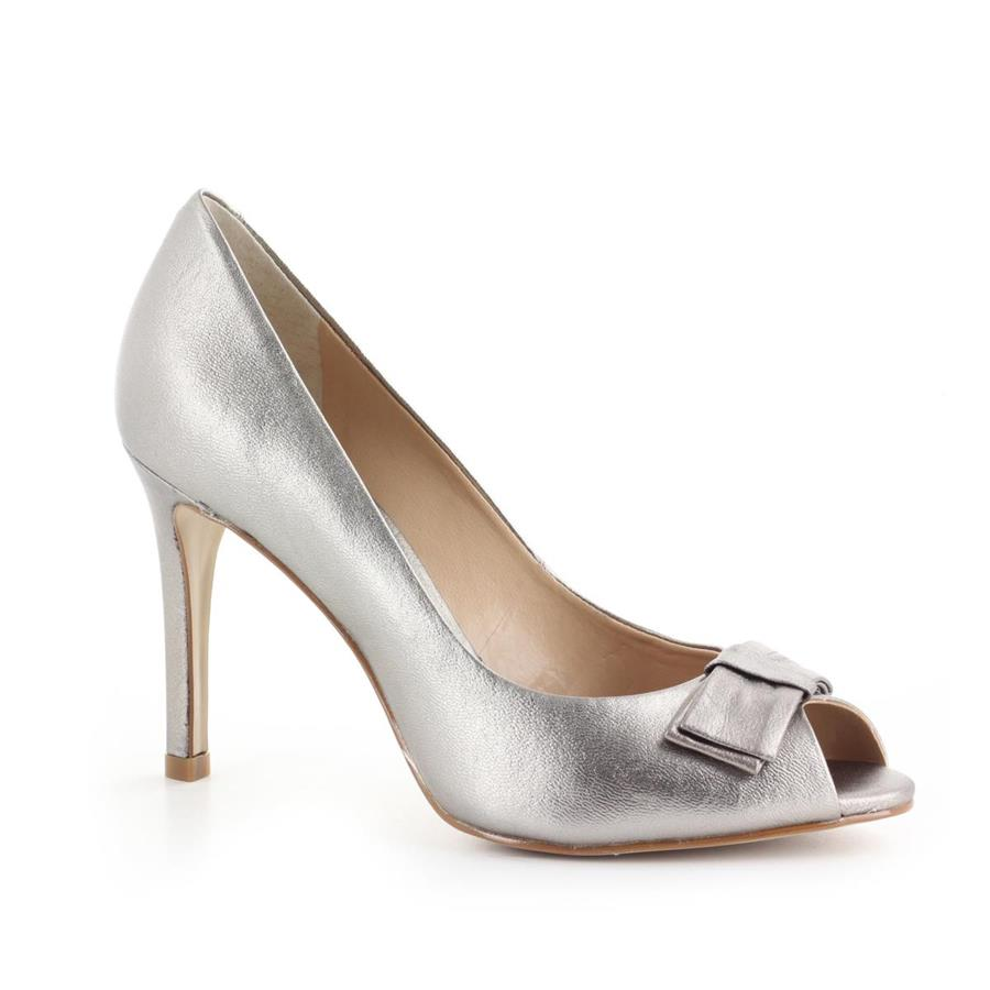 PEEP TOE MADE IN 18180 PEWTER