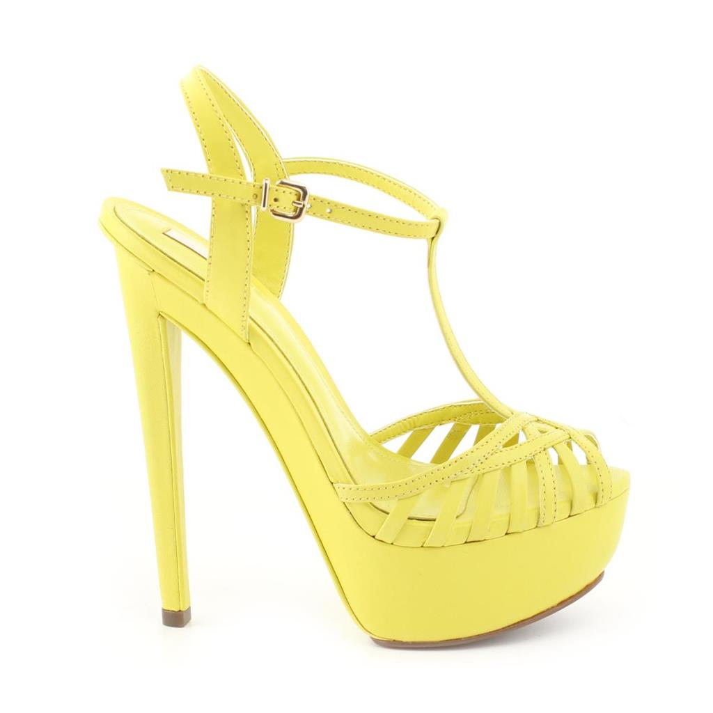 SANDALIA SCHUTZ 18180005M LEMON YELLOW