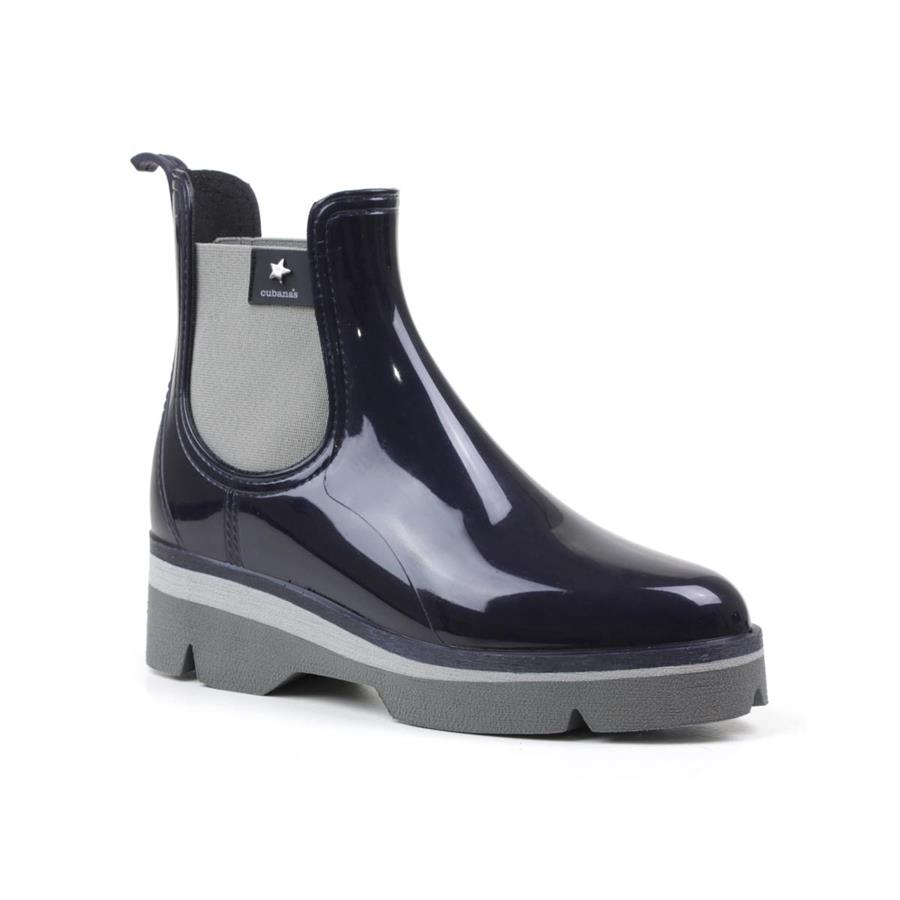 RAINYBOOT CUBANAS DERBY210 BLUE+GREY