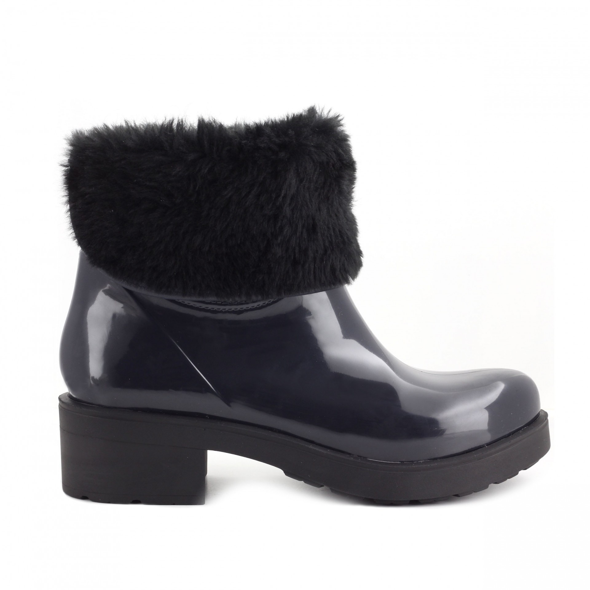 RAINYBOOT CUBANAS STORM220 MIDNIGHT BLUE+BLACK