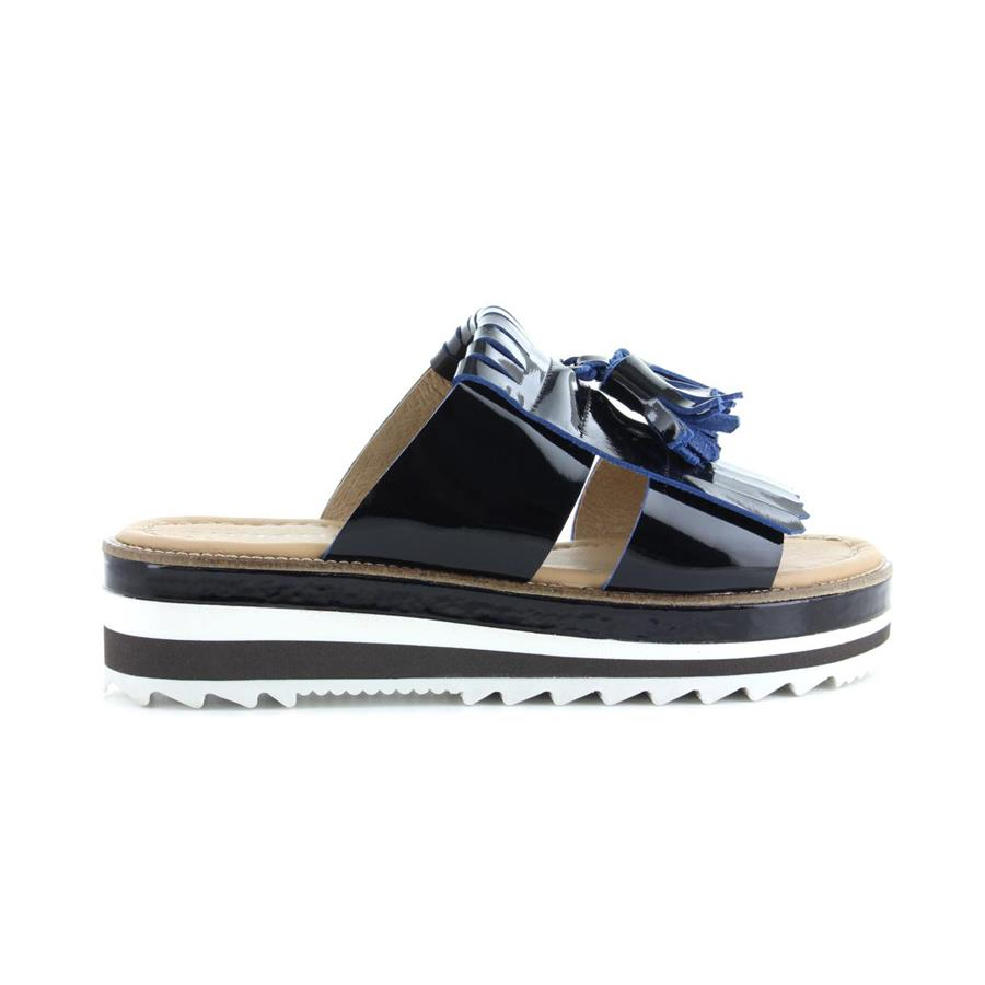 FLATFORM CUBANAS PALM110 BLACK/BLUE