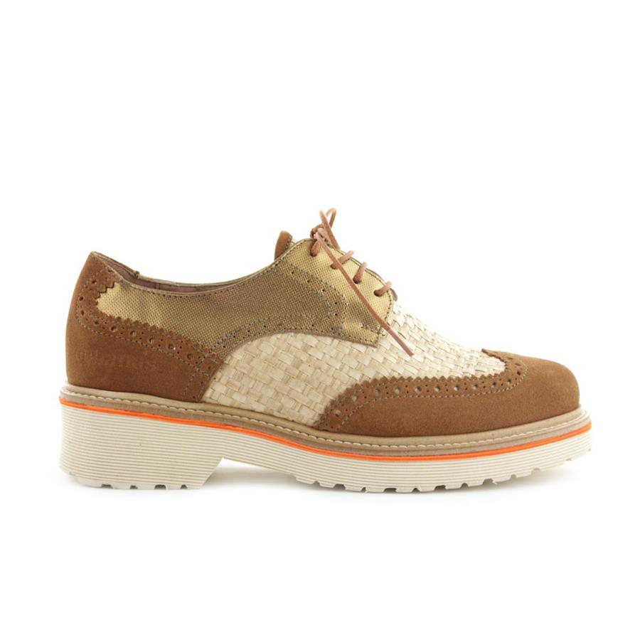 OXFORD CUBANAS DALLY110P CAMEL+GOLD+NATURAL