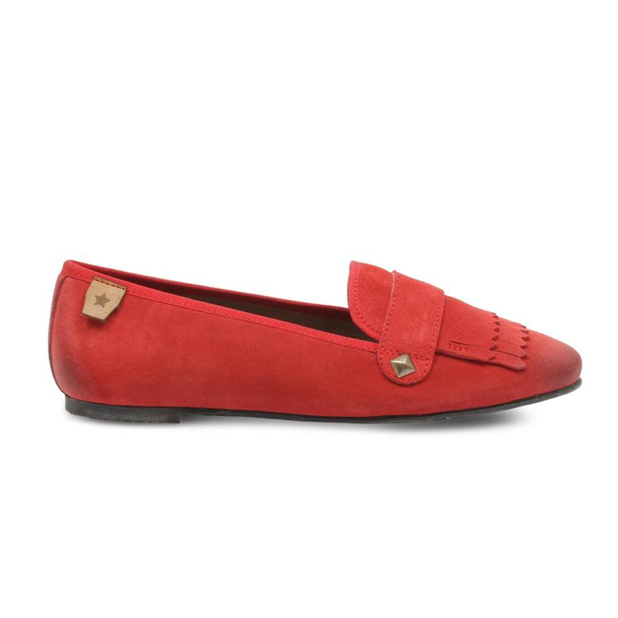 MOCASSIM CUBANAS LAIZY100 SPICY RED