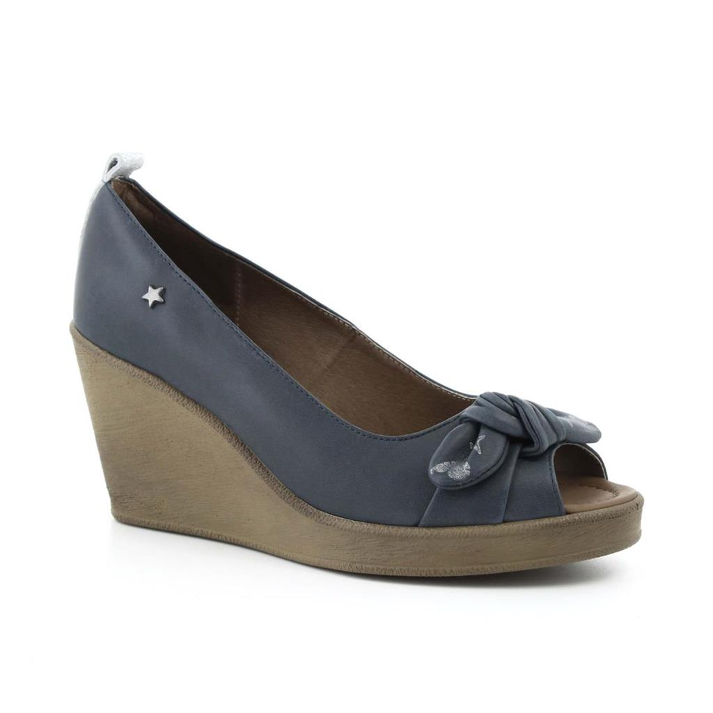 PEEP TOE CUBANAS CULT4000 MIDNIGHT BLUE