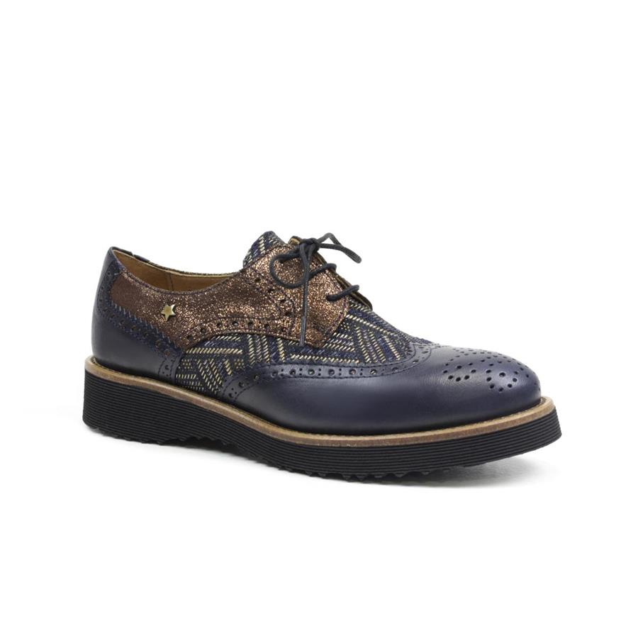 OXFORD CUBANAS DUNE810 DARK BLUE+OLD GOLD