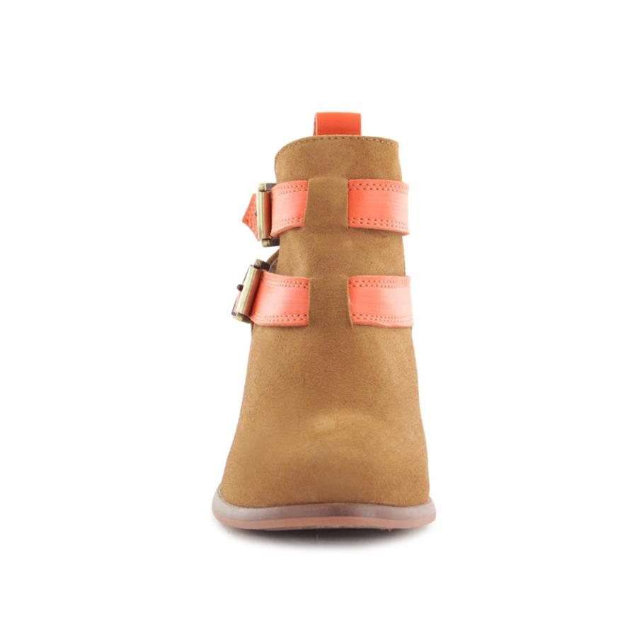 BOTA CUBANAS SUNRISE580L CAMEL+ORANGE