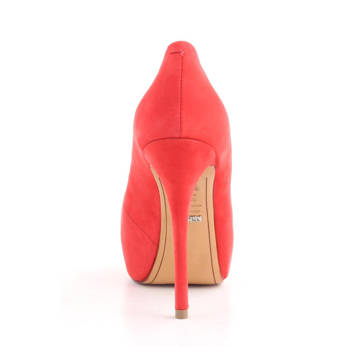 PEEP TOE SCHUTZ 12050001NK POPPY RED