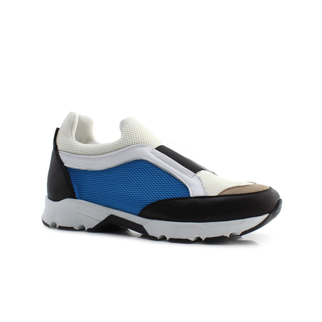 TENIS CUBANAS RUN810 BLACK+BLUE