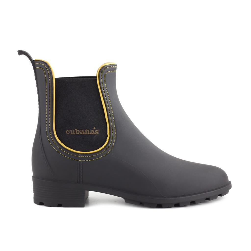 RAINYBOOT CUBANAS RAINY620 BLACK+CURRY