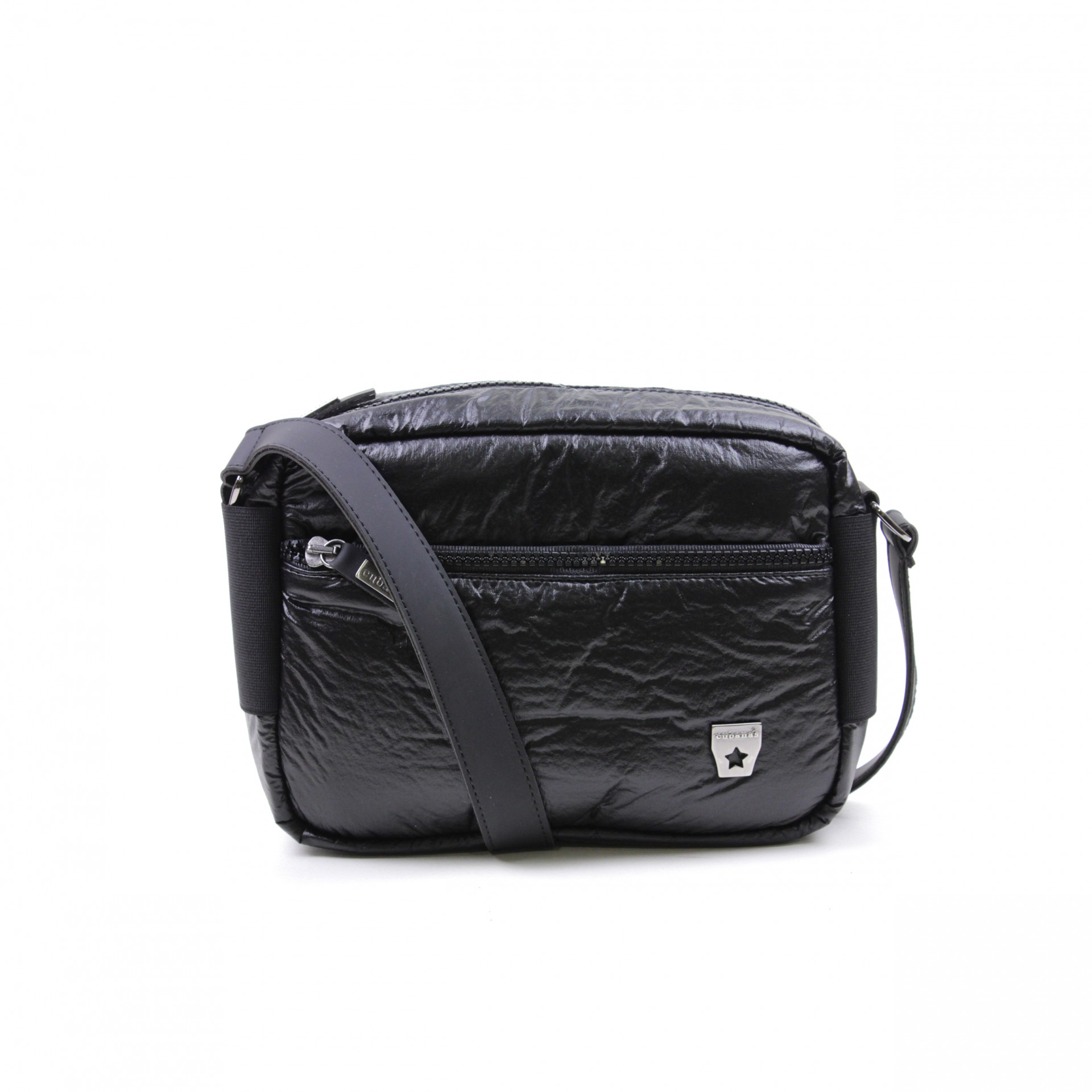 CROSSBODY CUBANAS STONE210 BLACK