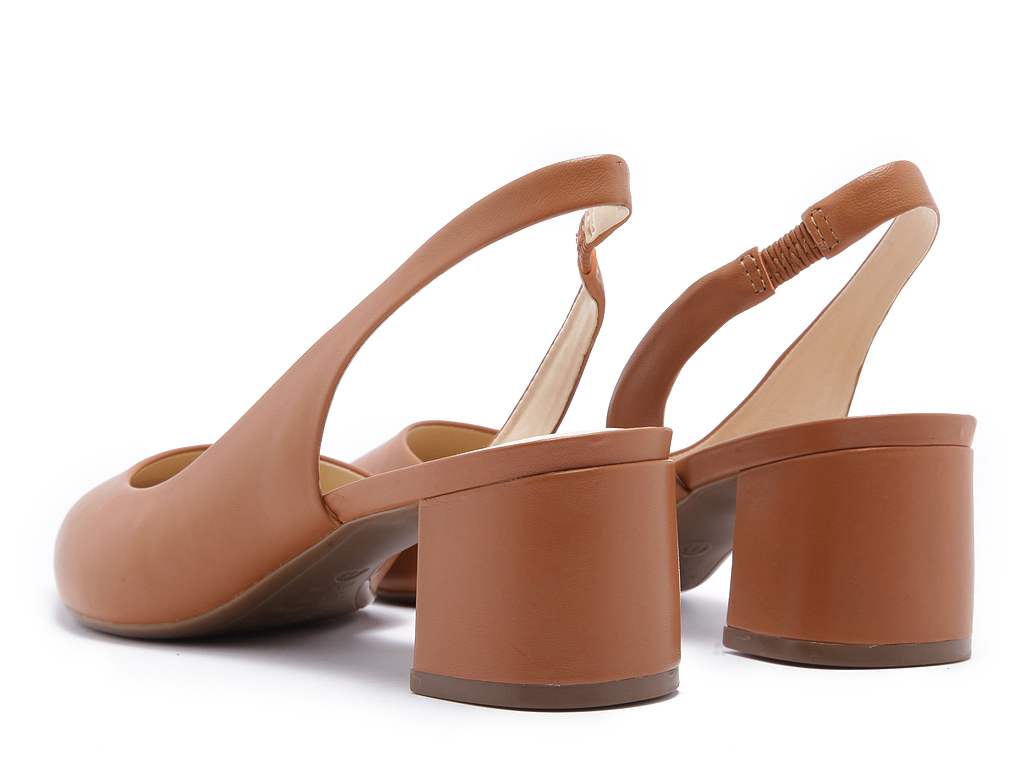 slingbacks arezzo brown a1074600940001 Brown