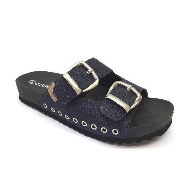 sandals cubanas black sound100black Black