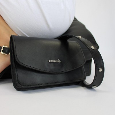 belt bag cubanas black folk100black Black
