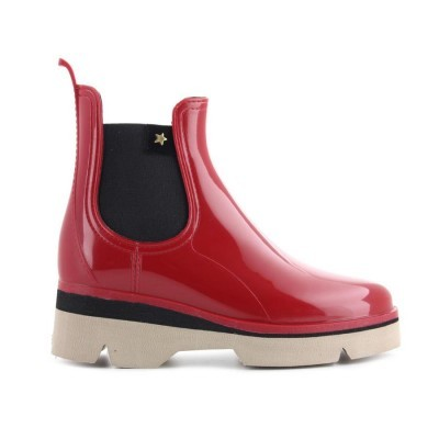 RAINYBOOT CUBANAS DERBY210 RED+BEIJE
