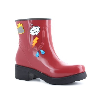 RAINYBOOT CUBANAS DI STORM340 RED
