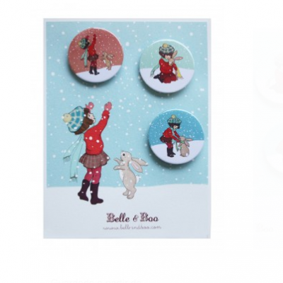 Crachats | Belle & Boo