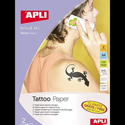 Papel para impressão de tatuagens