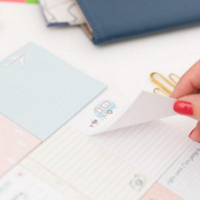 Caderno notas adesivas | Small notes for big dreams